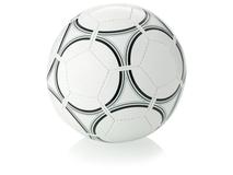 Мяч футбольный, чёрный/ белый фото