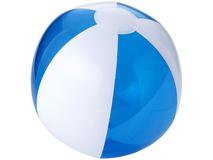 Мяч надувной пляжный, прозрачный синий фото