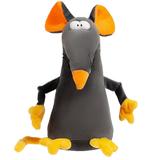 Мягкая игрушка «Мышонок Dude», серо-оранжевый фото