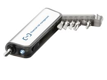 Мини-набор инструментов Reno, серый фото