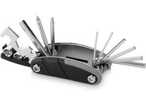 Многофункциональный инструмент 16 в 1, черный, серебряный/серый фото
