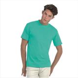 Мужская футболка Exact 190, мятный/pixel turquoise фото
