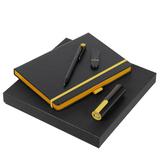 Набор Black Maxi, черно-желтый фото