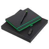 Набор Black Memory, черно-зеленый фото