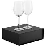 Набор бокалов для вина Wine House, черный фото