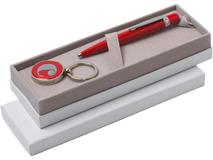 Набор Cacharel: шариковая ручка, брелок с флеш-картой USB 2. на 4 Гб фото