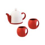 Набор чайный СлуЧАЙный восторг, белый фото