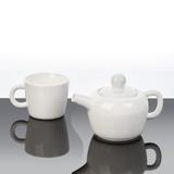 Набор чайный Вавилон, белый фото