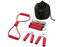 Набор для фитнеса Dwayne, красный фото