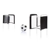 Набор для игры в футбол, черный, белый фото