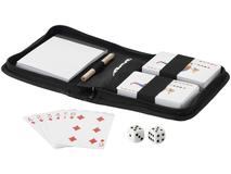 Набор для игры в карты, черный фото