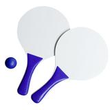 Набор для игры в пляжный теннис Cupsol, белый с синим фото