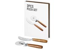 Набор для пиццы Nantes, серый, коричневый фото