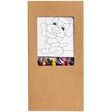 Набор для раскрашивания Paint Your World (8 картинок и 8 мелков), разноцветный фото