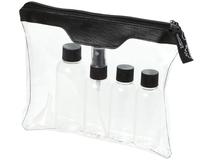 Набор для ручной клади Munich, черный, прозрачный фото