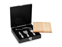 Подарочный набор для вина Mino, черный, серый, коричневый фото