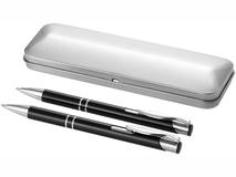 Подарочный набор ручек Dublin, черный фото