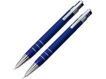 Подарочный набор ручек Эльба, синий фото