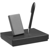 Набор Full Moon (внешний аккумулятор, ручка), серый фото