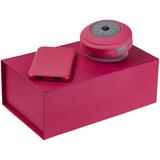 Набор Good Vibrations: аккумулятор и колонка, розовый фото