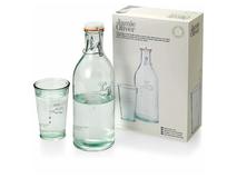 Набор графин и стакан для воды, прозрачный фото