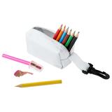 Набор Hobby с цветными карандашами и точилкой, белый фото