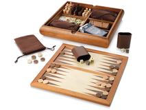 Набор игр Towert, коричневый фото