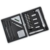 Набор инструментов (22 предмета), серебряный/серый фото