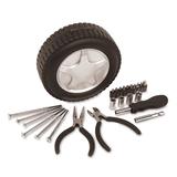 Набор инструментов Колесо, черный, серый фото