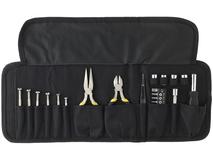 Набор инструментов, 25 предметов в чехле, черный фото