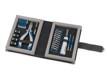 Набор инструментов Мастеровой, черный, синий, белый фото
