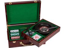Набор Казино Рояль, красный, зеленый, разноцветный фото