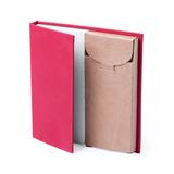 Набор LUMAR: листы для записи (60шт) и цветные карандаши (6шт), красный фото