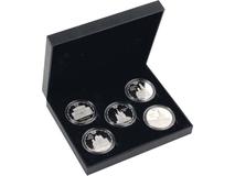 Набор медалей Кремль, серебряный/серый фото