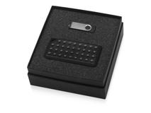 Подарочный набор Move-it с флешкой и портативной колонкой, черный фото