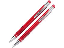 Подарочный набор ручек Онтарио, красный/ серый фото