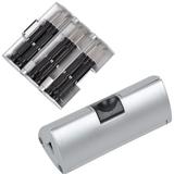 Набор отверток в футляре 9,5х4х4 см, серый фото