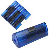 Набор отверток, синий фото