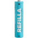 Набор перезаряжаемых батареек Refilla AAA, 450 мАч фото