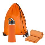 Набор подарочный Аэробика, оранжевый фото