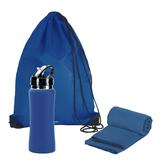 Набор подарочный Аэробика, синий фото