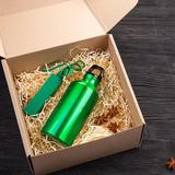 Набор подарочный EnergyHint: зарядное устройство, бутылка, зелёный фото