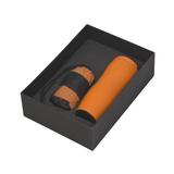 Набор подарочный Эталон, оранжевый фото