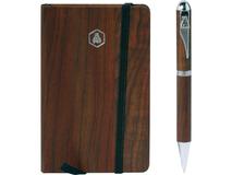 Подарочный набор Larbey: записная книжка А6, ручка шариковая фото