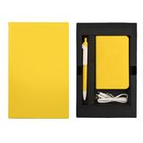 Набор thINKme Power Box Mini: зарядное устройство 4000мАh, ручка Forte, желтый фото