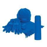 Набор подарочный Теплый подарок, синий фото