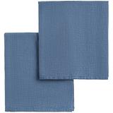 Набор полотенец Fine Line, синий фото