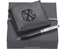 Набор Christian Lacroix: портмоне, ручка-стилус шариковая фото