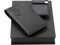 Набор: портмоне, визитница с флеш-картой на 4 Гб фото