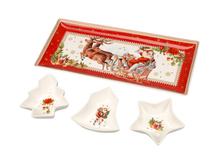 Набор Рождественский сюрприз, белый, красный фото